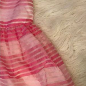 The Children's Place Dresses - Girls pink striped dress.